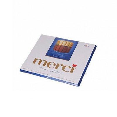 Конфеты Merci молочный шоколад 250гр