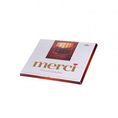 Конфеты Merci горький шоколад 250гр