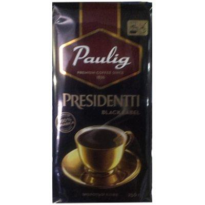 Кофе Paulig Presidentti Black Label молотый м/у (250гр)