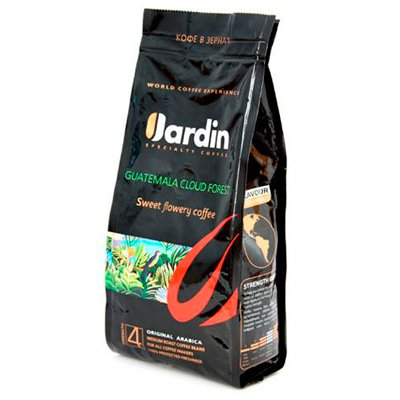 Кофе Jardin Guatemala cloud forest зерно м/у (250гр)