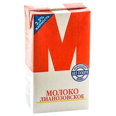 Молоко стерилизованное «М» 3,2% 950г (12шт)