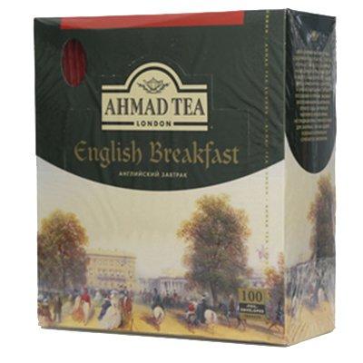 Чай Ahmad Английский завтрак (100пак)