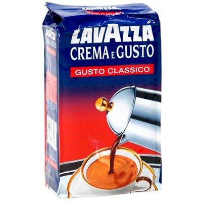 Кофе LavAzza Crema e gusto молотый в/у (250гр)