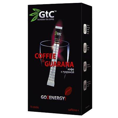 Кофе в стиках GTC с гуараной 2гр (15стик)