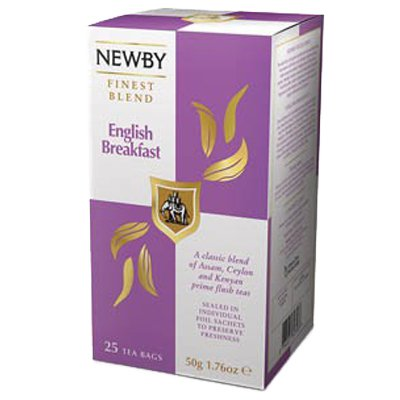 Newby Английский завтрак (25пак)
