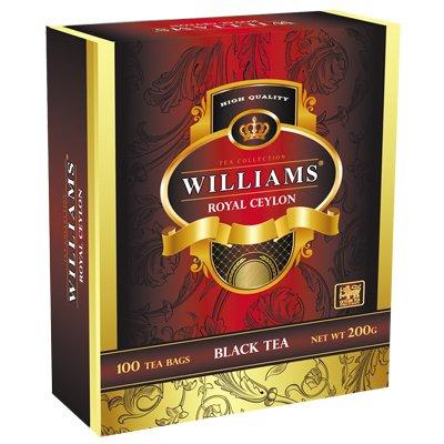 Чай черный Williams Royal Ceylon (100 пак)