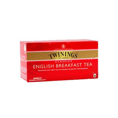 Twinings English breakfast (25пак) (2шт)