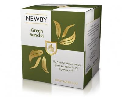 Newby Зеленая Сенча лист.(100гр)
