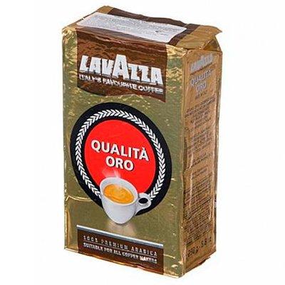 Кофе LavAzza Qualita Oro молотый в/у (250гр)
