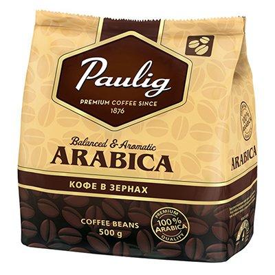 Кофе Paulig Arabica зерно м/у (500гр)