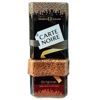 Кофе Carte Noire растворимый ст (190гр)