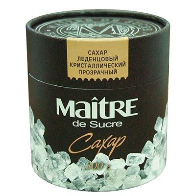 Сахар Мэтр (Maitre) леденцовый прозрачный кристаллический в тубе 300гр
