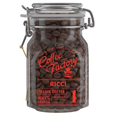 Кофе Coffe Factory в зернах Ricci 290гр ст.