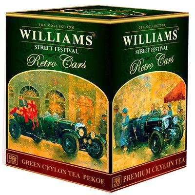 Чай зеленый Williams Street Festival (200 гр.)