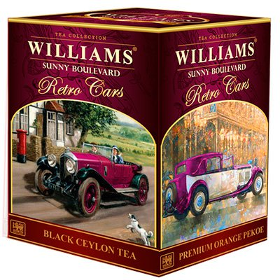 Чай черный Williams Sunny Boulevard (200 гр.)