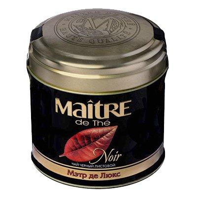 Чай Maitre де Люкс черный 100гр