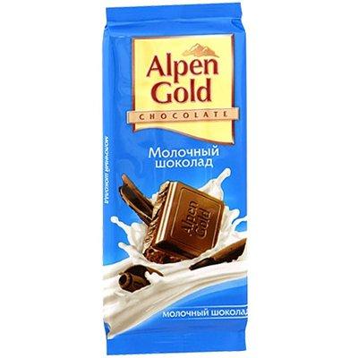 Шоколад Alpen gold молочный 90гр (5шт)