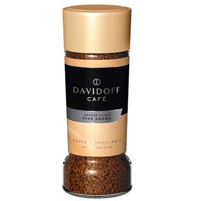 Кофе Davidoff fine aroma растворимый ст (100гp) (2шт)