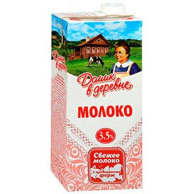 Молоко Домик в деревне 3,5% 950г(12шт)