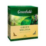 Greenfield Green Melissa (100пак)